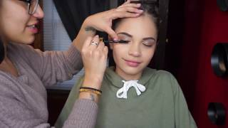 download lagu I Do My 12 Year Old Sisters Makeup Gianella gratis