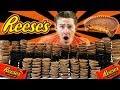 250 REESE'S PEANUT BUTTER CUP CHALLENGE! (20,000+ CALORIES) thumbnail