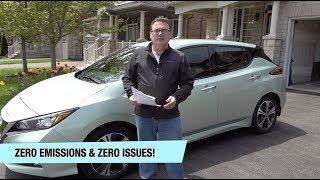 Episode 45 - Special Episode - 1-Year Review of my 2018 Nissan Leaf!  Zero Emissions, Zero Issues!