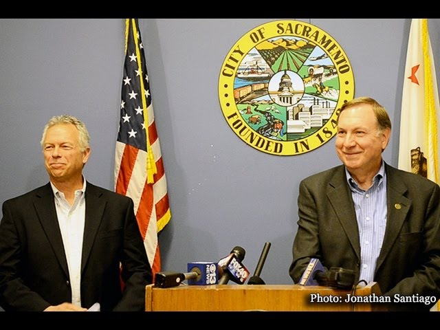 City officials John Shirey, John Dangberg address Sacramento Kings arena term sheet