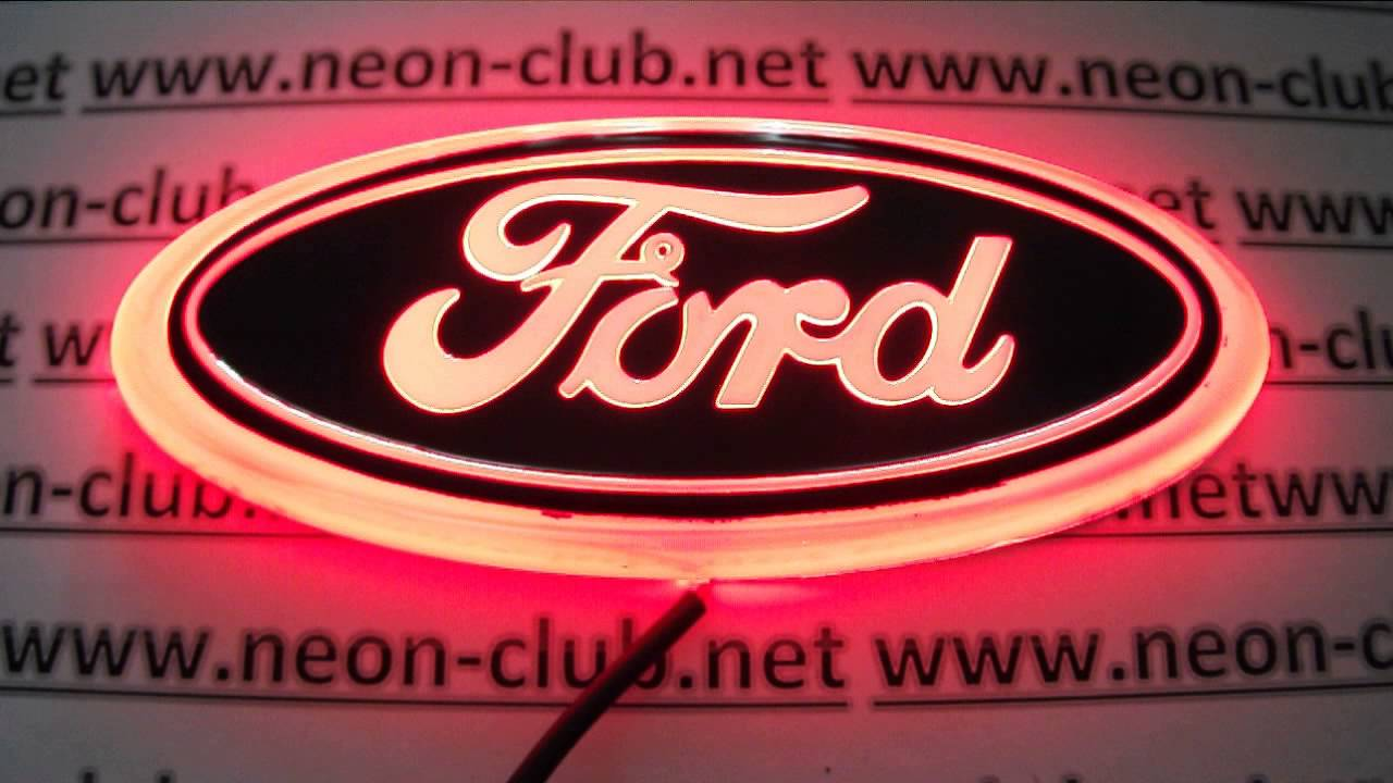 Red Ford Car Badges