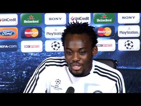 Michael Essien Interview 07.12.09