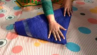 How to make Fish using a Saree,Wedding Tray Decoration