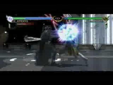 Soul Calibur 4 - The Apprentice vs Darth Vader