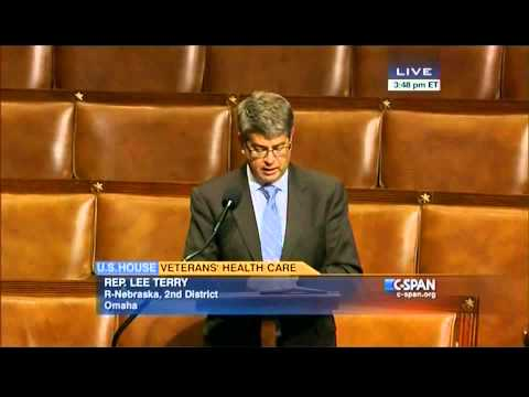 Congressman Lee Terry Speaks on House Floor About Build-Lease For New Omaha VA Hospital