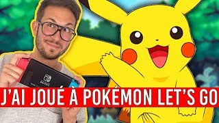 J'ai joué à POKÉMON LET'S GO, Poké Ball Plus en main ! Nintendo Switch