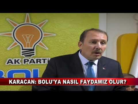 Ak Parti genel başkan yardımcısı Karacan Bolu'ya geldi (22.11.2017)