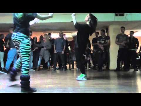 Girl's Hip Hop Dance Off | Xnrg Bday 2014 video
