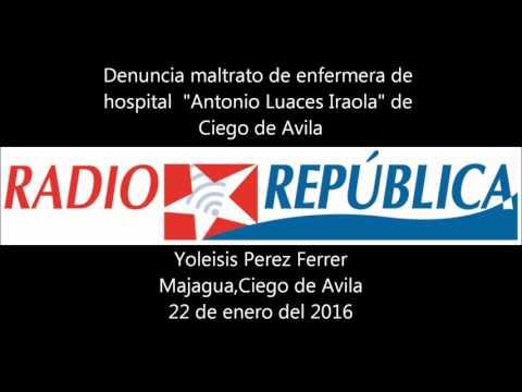 Pacientes se quejan de maltrato en hospital de Ciego de Avila, Cuba
