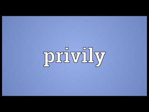 Header of privily