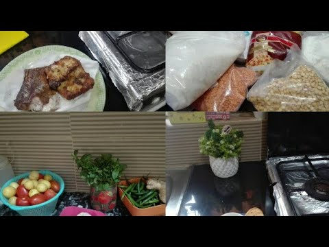 How to make fish!! step by step method of fish!!how I arrange my vegetables and grocery!!
