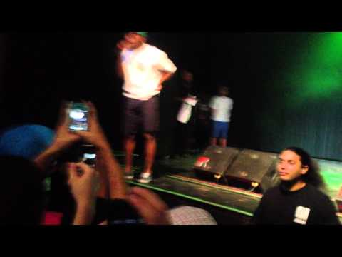 Tyler, The Creator and Earl Sweatshirt - Jay-Z the stuffed cat [Live in Tucson 04/30/13]
