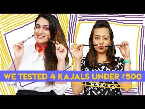 4 Kajals Under ₹500 Tested | Beauty| Hauterfly | Best Kajal India
