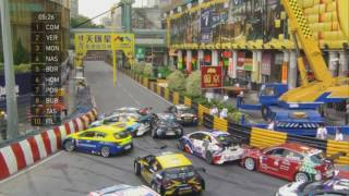 TCR 2016. Macau. Traffic jam