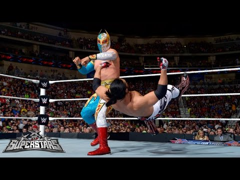 Sin Cara Vs. Justin Gabriel: Wwe Superstars, Sept. 4, 2014, 2014 video