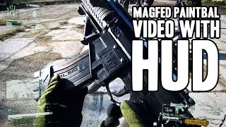 Magfed Paintball Video with HUD