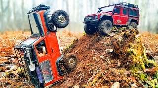 RC Trucks OFF Road — Traxxas TRX4, Axial SCX10 II, Axial Wraith, Land Rover Defender