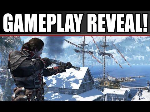 Assassin's Creed: Rogue Gameplay Walkthrough Part 1: Ship Battles, Weapons! (Xbox 360, PS3)