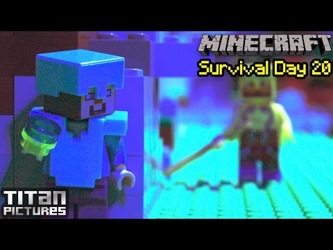 Lego Minecraft Survival 20