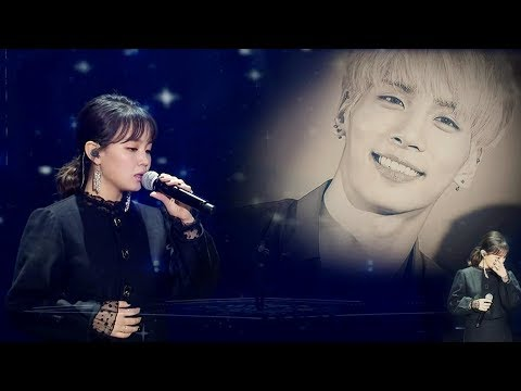 LEE HI - 한숨 (BREATHE) _ Special Stage for SHINee Jonghyun in The 32nd Golden Disc Awards 20180111
