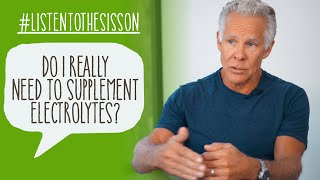 Do I Need to Supplement with Electrolytes on Keto? #ListenToTheSisson