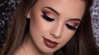 Warm Brown Makeup Tutorial | FALL MAKEUP LOOK