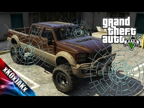 How To Get A BULLETPROOF REAR WINDOW For SANDKING in GTA 5!