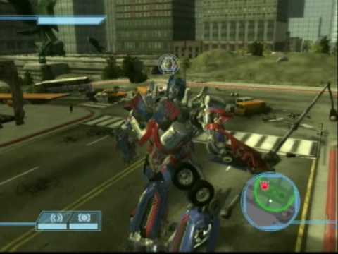 Transformers The Game PS3 - Optimus Prime Vs. Megatron (Final Autobot Mission)