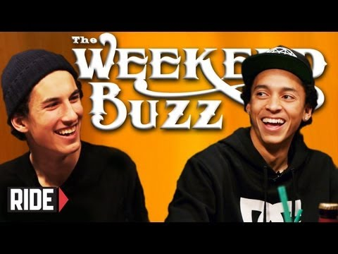 Nyjah Huston & David Loy Talk Street Racing & Street League: Weekend Buzz ep. 3
