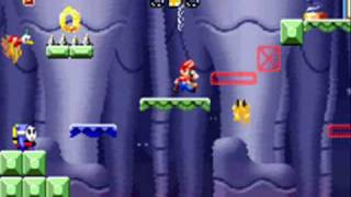 Mario vs. Donkey Kong glitch in level 3-6+