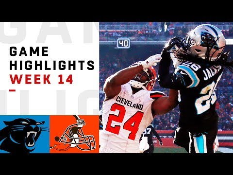 Panthers vs. Browns Week 14 Highlights  NFL 2018