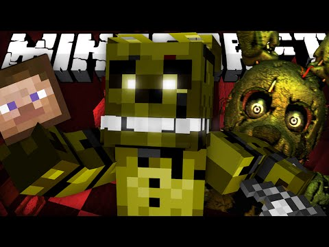 If Five Nights at Freddy's 3 Took Over Minecraft