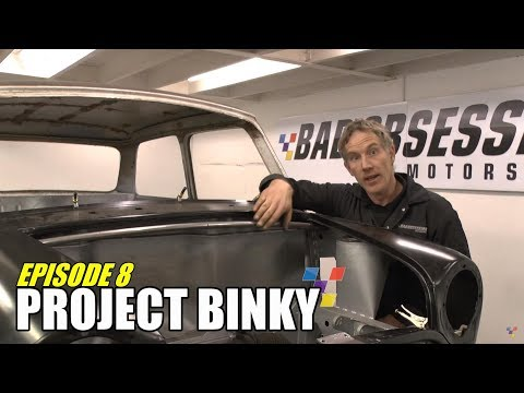 The quest to build one of the world's fastest Mini's continues.... In Episode 8, we get a pair of nice doors, Nik gets annoyed with the boot lid and we both ...