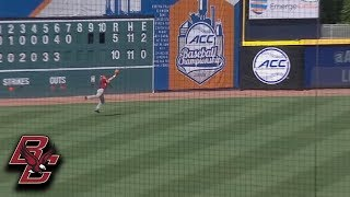 BC's Chris Galland With An Outstanding Catch