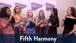 Backstage with Fifth Harmony at Jingle Ball 2016! | KiddNation