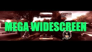 Need For Speed - How to run with MEGA WIDESCREEN