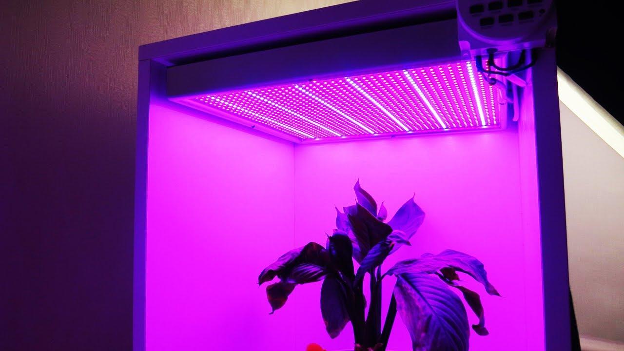 Подсветка для растений своими руками 5