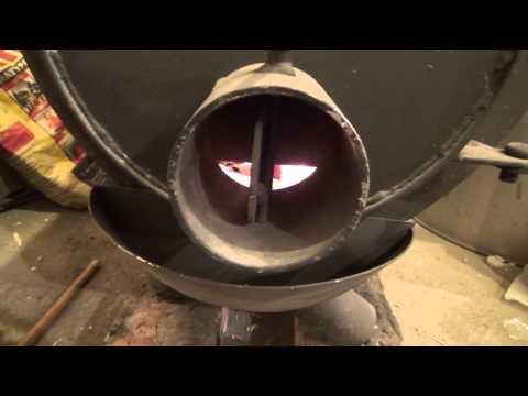 Газогенераторная печь калорифер своими руками 36