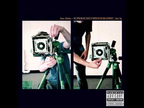 Ben Folds - Supersunnyspeedgraphic, the LP FULL ALBUM