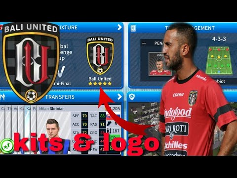 Dream League Soccer 2019 | How To Create Bali United Team Kits & Logo 2019