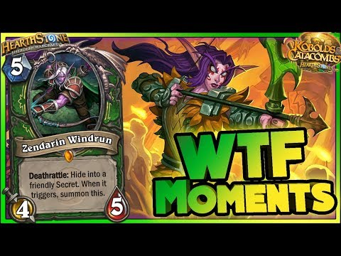 Hearthstone - Kobolds WTF Moments - Funny and lucky Rng Moments