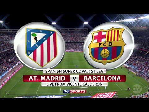 Barcelona vs Atletico Madrid 3-1 1ST HALF FULL MATCH
