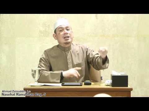 Nasehat Ramadhan Bag. 5 - Ahmad Zainuddin, Lc
