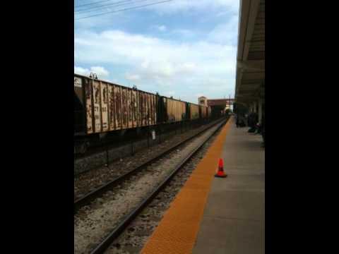 CSX Freight Through West Palm Beach