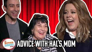 Hal's Mom Gets Advice From Melissa McCarthy (w/ Life of the Party cast)