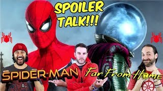 Spider-Man: Far From Home - SPOILER TALK!!!