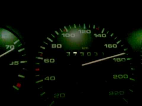 VW Passat 1.6TD 1991 B3 acceleration 0-173kmh top speed