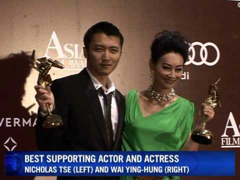 Asian movie talent celebrated at film awards ceremony