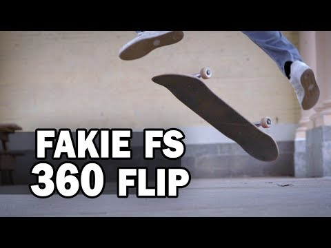 Fakie Frontside 360-Flip: Josh Katz || ShortSided