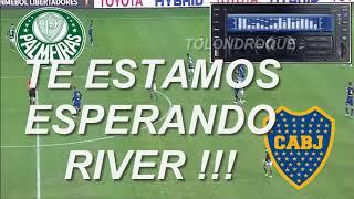 (Relato Emocionante Daniel Mollo) Palmeiras 2 - 2 Boca. Copa Libertadores